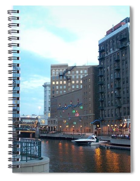 Milwaukee River Walk Spiral Notebook