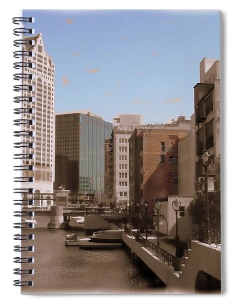 Milwaukee Riverwalk Spiral Notebook