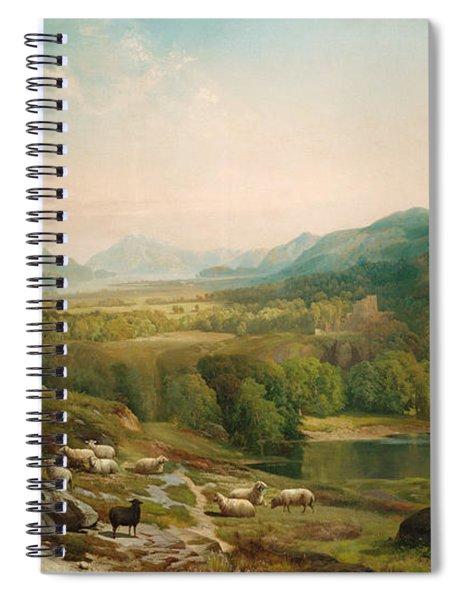 Minding The Flock Spiral Notebook