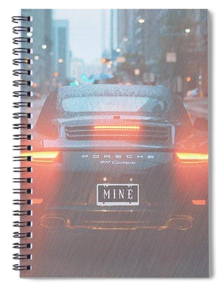 Mine In The Rain Spiral Notebook