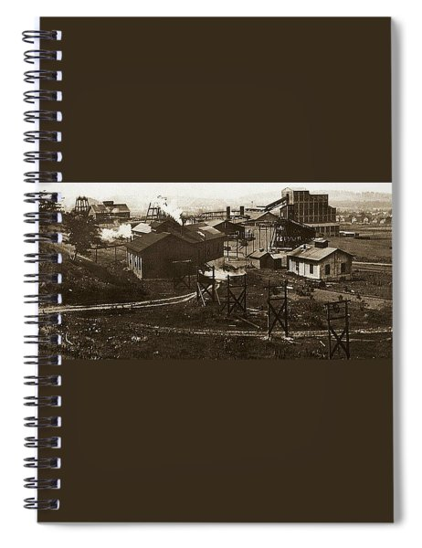 Mineral Springs Colliery Parsons Gravel Hill Scranton Patch Area Of Wilkes Barre Pa 1913 Spiral Notebook