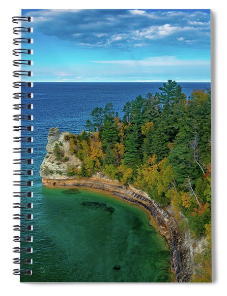 Miners Castle Spiral Notebook