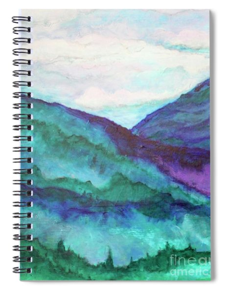 Mini Mountains Majesty Spiral Notebook