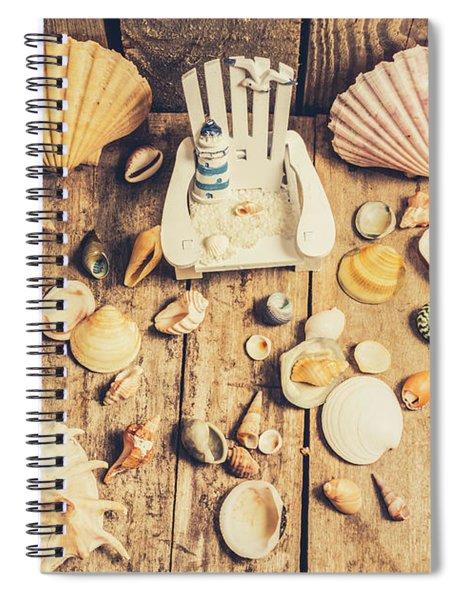 Miniature Sea Escape Spiral Notebook