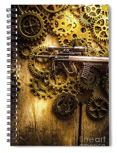 Miniature Steyr Aug A1 Spiral Notebook
