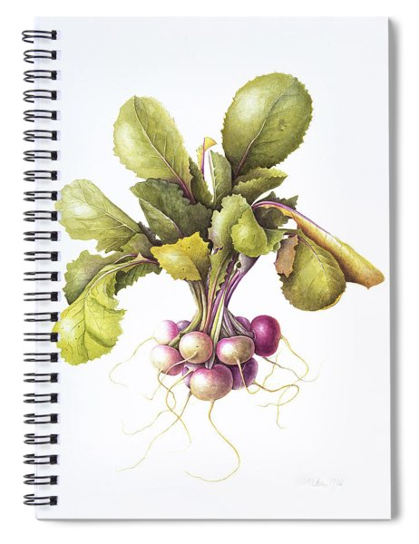Miniature Turnips Spiral Notebook