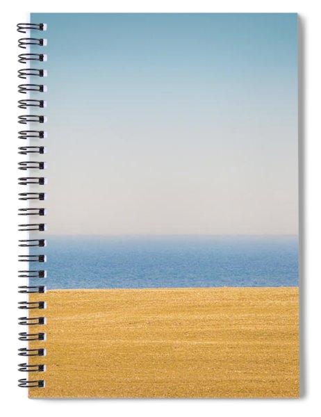 Minimal Lake Ontario Spiral Notebook