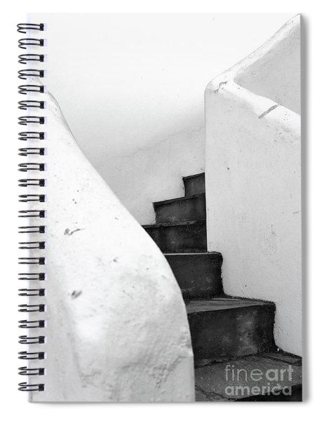 Minimal Staircase Spiral Notebook