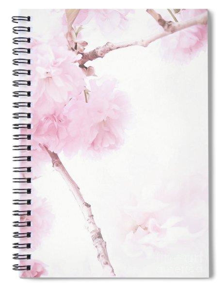 Minimalist Cherry Blossoms Spiral Notebook