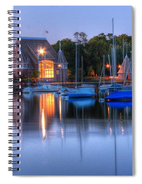 Minneapolis Skyline Photography Spiral Notebook