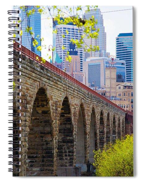 Minneapolis Stone Arch Bridge Photography Seminar Spiral Notebook