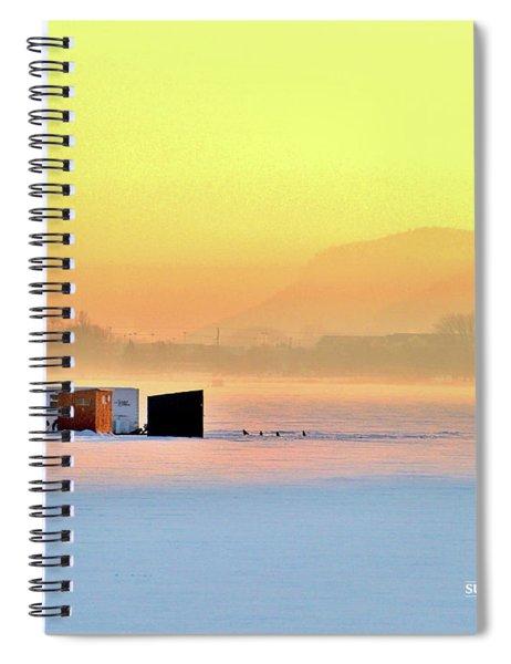 Minnesota Sunrise Spiral Notebook