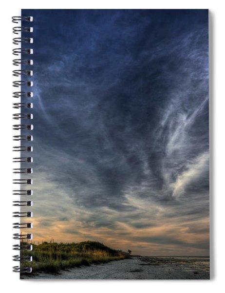 Minor Earth. Major Sky. Spiral Notebook