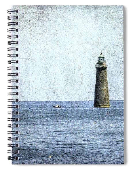 Minot Ledge Light Spiral Notebook