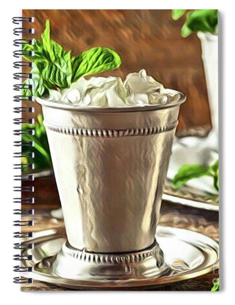 Mint Julep Double Spiral Notebook