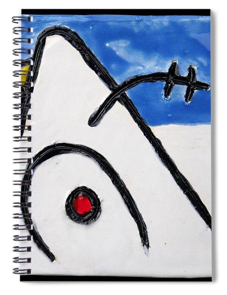 Miroesque Spiral Notebook
