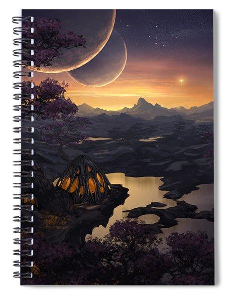 Mirror Lakes Spiral Notebook