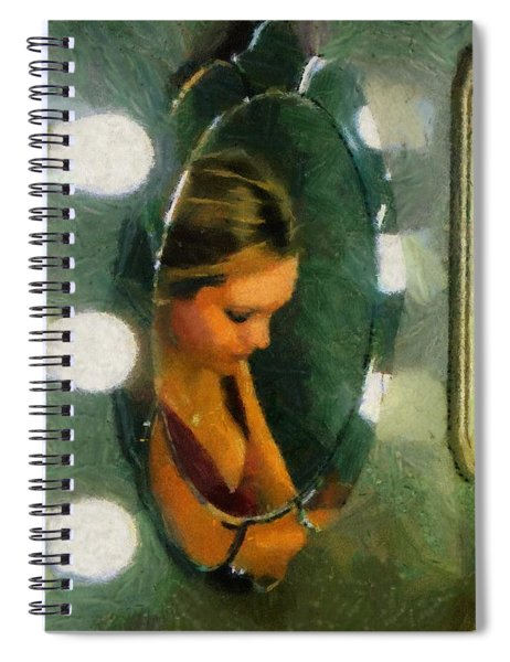 Mirror Mirror On The Wall Spiral Notebook