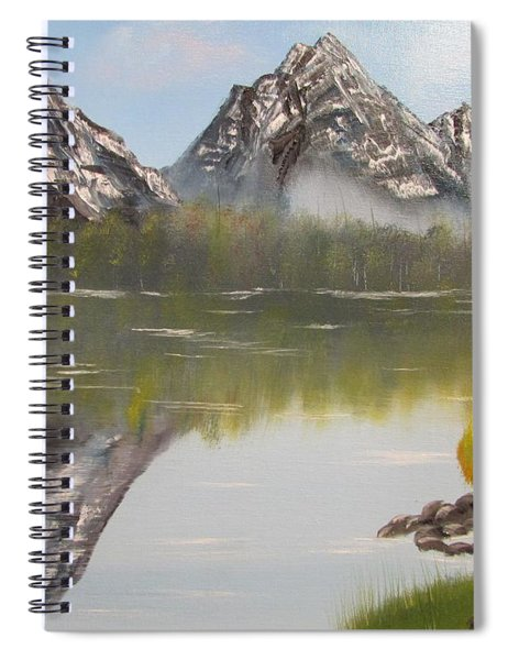 Mirror Mountain Spiral Notebook