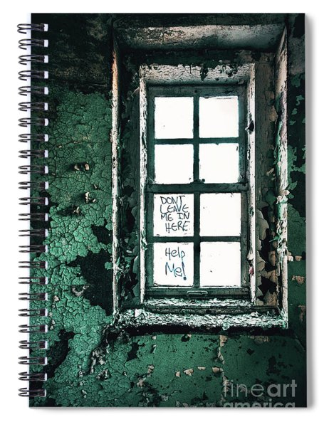 Misery Screams Spiral Notebook