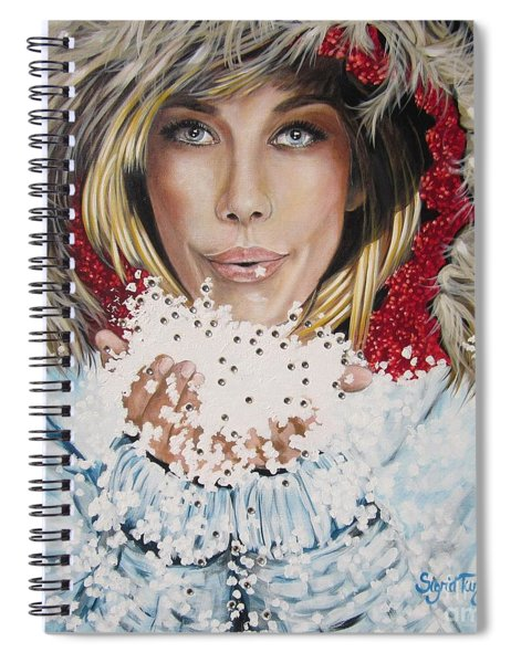 Remarkable Russian Girl.            From The Attitude Girls  Spiral Notebook