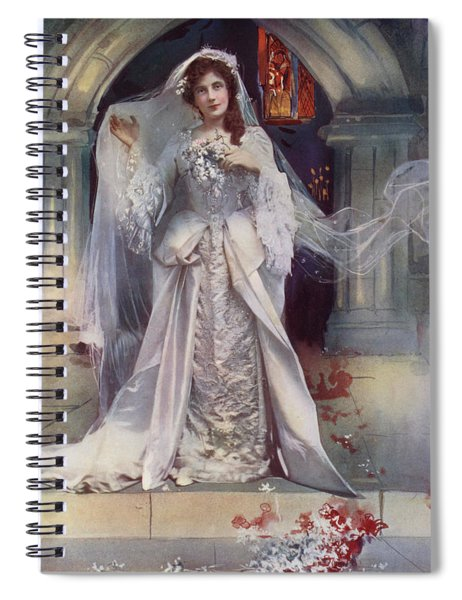 Miss Lena Ashwell In Bonnie Dundee Spiral Notebook