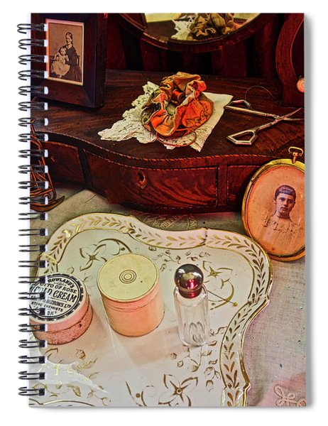 Miss Mary's Table. Spiral Notebook