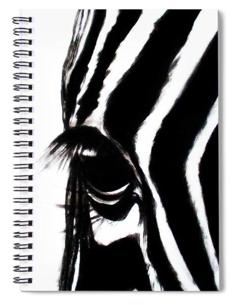 Miss Zebbie Spiral Notebook