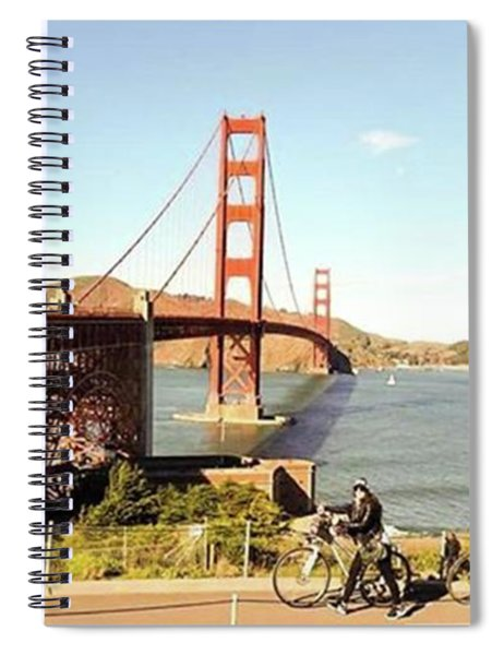 Missed You A Lot San Francisco Spiral Notebook