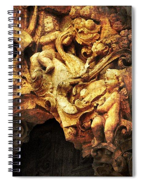 Mission Cherubs Spiral Notebook
