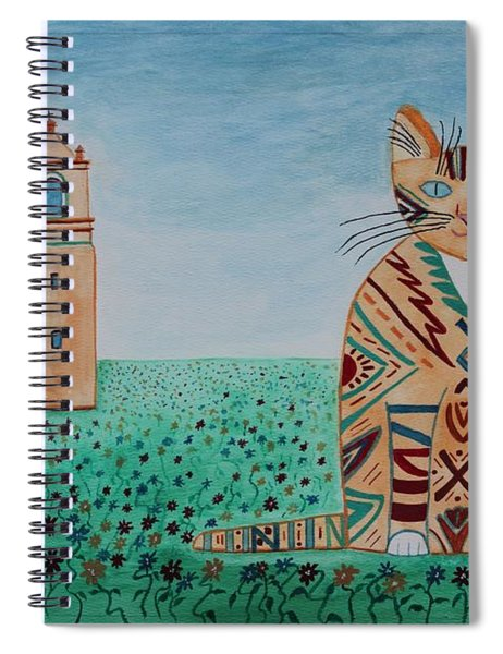 Mission Concepcion Cat Spiral Notebook