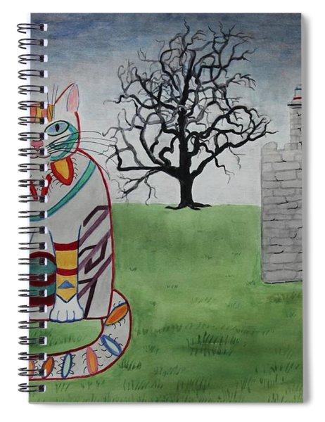 Mission Espada Cat Spiral Notebook
