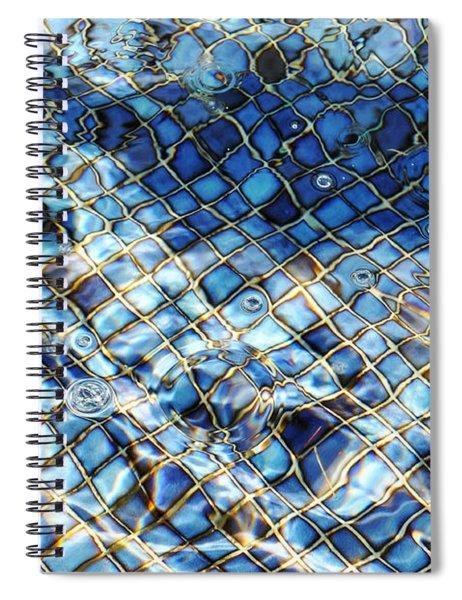Mission San Buenaventura Mosaic Spiral Notebook