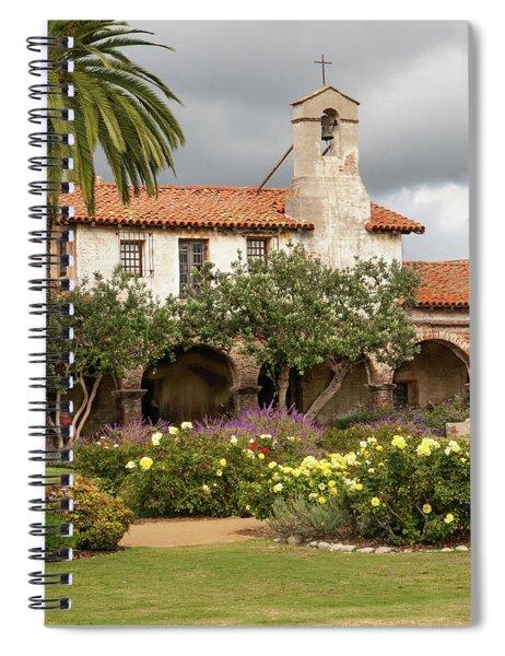 Mission San Juan Capistrano Spiral Notebook