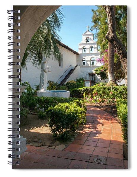 Mission Walk Spiral Notebook