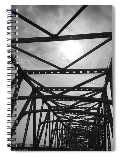 Mississippi River Bridge Spiral Notebook