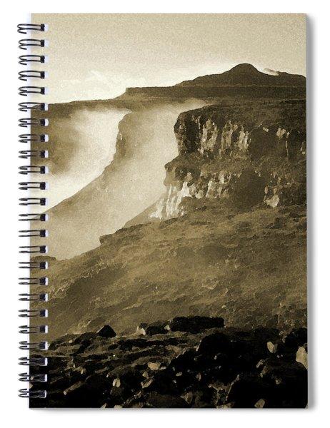 Mist In Lesotho Spiral Notebook