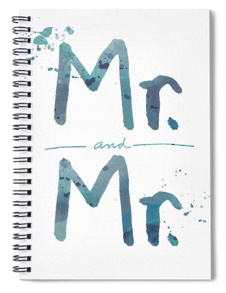 Mister And Mister  Spiral Notebook