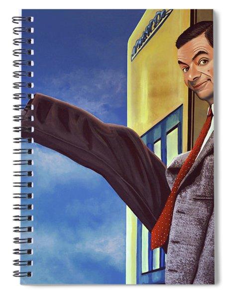 Mister Bean Spiral Notebook