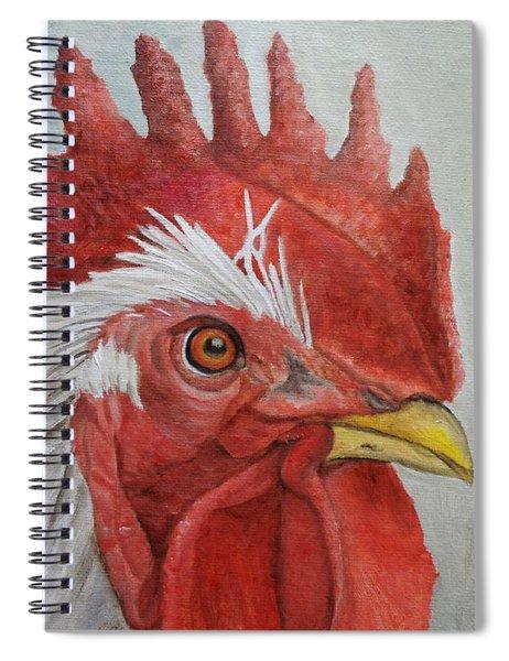 Mister Rooster Spiral Notebook