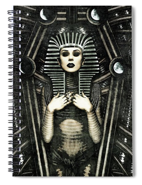 Mistress Of The House Spiral Notebook