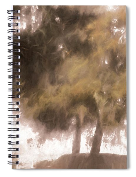 Mists Begin To Lift Spiral Notebook