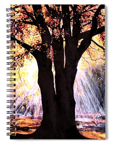 Mists Of Time  Spiral Notebook