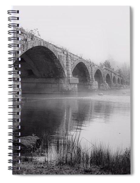Misty Bridge Spiral Notebook