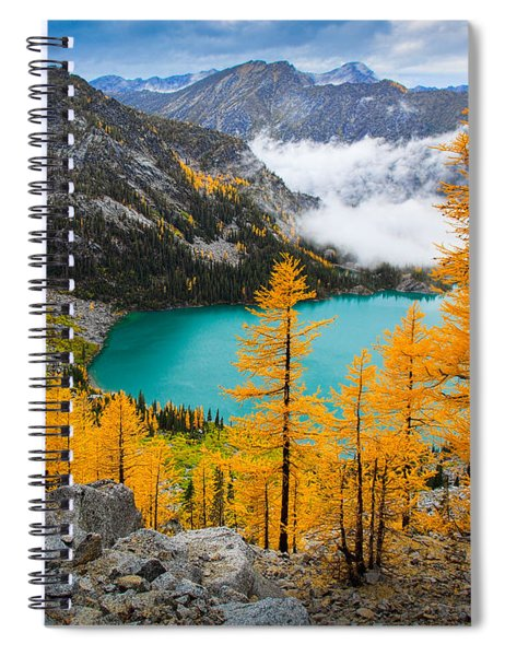 Misty Colchuck Lake Spiral Notebook