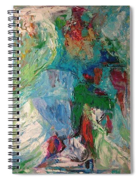Misty Depths Spiral Notebook