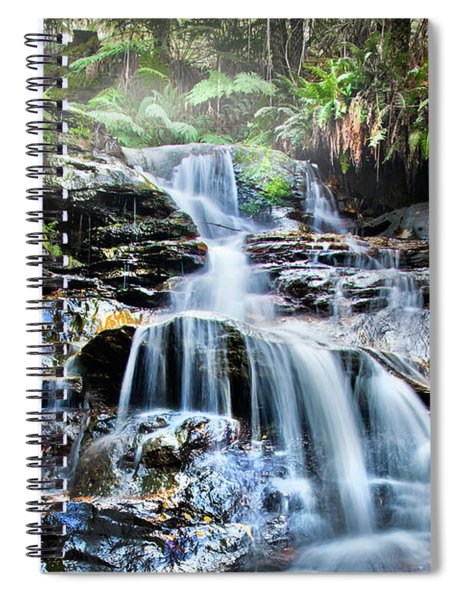 Misty Falls Spiral Notebook