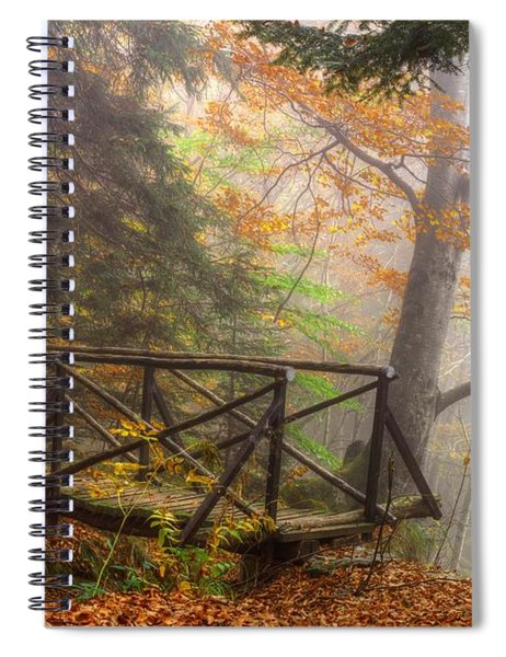 Misty Forest Spiral Notebook