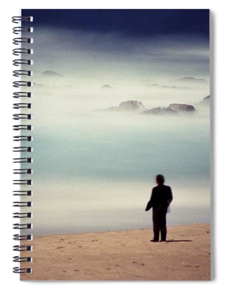 Misty Moonlight Spiral Notebook