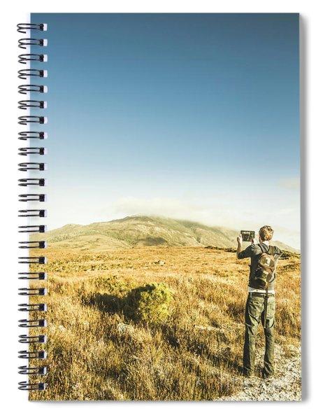 Misty Mountain Travels Spiral Notebook